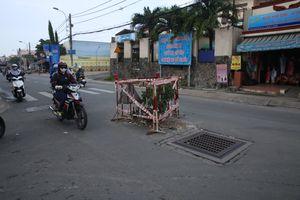 TP.HCM: Nhiều đoạn đường bị sạt lở nặng sau trận mưa ngập lịch sử