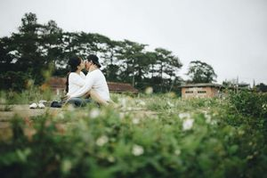 Ảnh cưới trong trẻo của diễn viên 'Tôi thấy hoa vàng trên cỏ xanh'