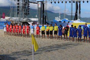 ABG5-2016: Bóng đá bãi biển vòng tứ kết Việt Nam thua Thái Lan ngay trên sân nhà