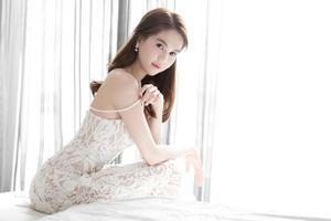 'Choáng' với chiếc váy xuyên thấu 'mặc như không' của Ngọc Trinh