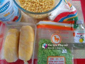Cách làm xôi cốm đậu sầu riêng thơm ngon, hấp dẫn