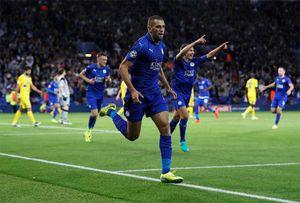 Leicester thắng trận thứ hai liên tiếp tại Champions League