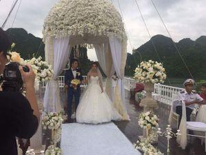 Rò rỉ ảnh cưới của Hương Giang Idol