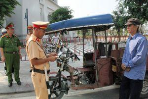 Quảng Ninh: TP.Hạ Long truy bắt xe ba bánh, xe tự chế vi phạm