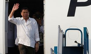 Tổng thống Philippines Duterte đến Hà Nội