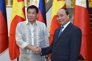 Thủ tướng Nguyễn Xuân Phúc hội kiến với Tổng thống Philippines