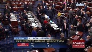 Quốc hội Mỹ lật ngược phủ quyết của ông Obama