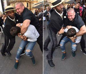 Nhà báo biến thái đòi hôn mông Kim Kardashian sau khi tấn công Gigi Haldit