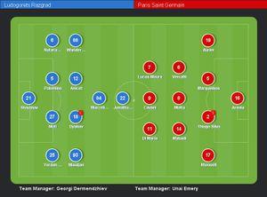 Arsenal thắng dễ, PSG vất vả lội ngược dòng trước Ludogorets