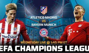 Atletico 1-0 Bayern: Chủ nhà vượt lên (H2)