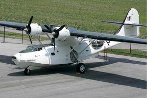 Chiêm ngưỡng 'thuyền bay' lưỡng cư quân sự Canso A của Mỹ