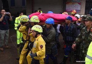 Khẩn trương cảnh cứu hộ sau bão Megi ở Trung Quốc