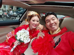 """Ảnh cưới """"chất đừng hỏi"""" của cặp đôi nàng Việt – chàng Trung"""
