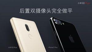 Xiaomi Mi 5s Plus trang bị camera kép sánh ngang iPhone 7 Plus?