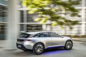 Bản mẫu SUV chạy điện mới của Mercedes-Benz