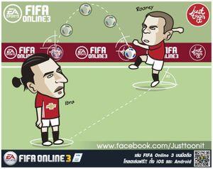 Biếm họa 24h: Rooney hóa 'thần rùa', Ibrahimovic lập kỷ lục