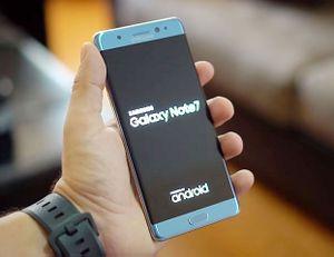 Dấu hiệu nhận biết Samsung Galaxy Note7 mới tại Việt Nam đã được xử lý nguy cơ cháy nổ
