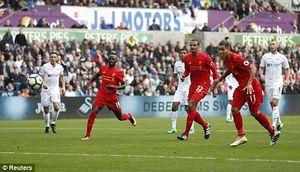 Swansea 1–2 Liverpool: Firmino và Milner giúp đội quân của Klopp ngược dòng vất vả