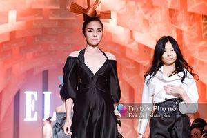 Hoa hậu Kỳ Duyên lạ lẫm khó nhận ra trên sàn diễn thời trang