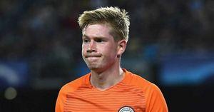 De Bruyne dửng dưng dù Man City thua thảm Barca