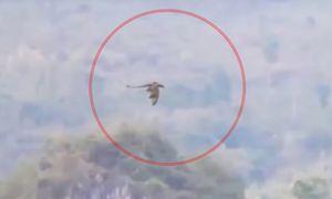 Clip rồng bí ẩn bay qua dãy núi gây chấn động Trung Quốc