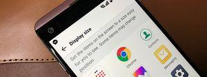 Thay đổi độ phân giải hiển thị trên Android 7 (LG V20)