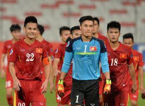 Nụ cười U19 Việt Nam khi giành vé tứ kết giải châu Á