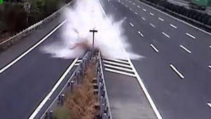 Lái xe theo GPS, cô gái gây tai nạn khủng khiếp