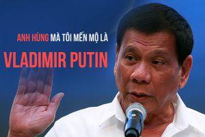Duterte dùng Putin để né tránh câu hỏi về bầu cử Mỹ