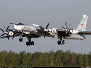 Máy bay ném bom Tu-95MS của Nga bốc cháy trên đường băng