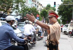 Phân luồng giao thông tại Hà Nội phục vụ Hội nghị cấp cao 4 nước tiểu vùng sông Mê Công