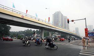 Hà Nội: Duy tu, sửa chữa cầu vượt Láng Hạ