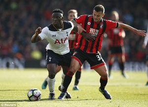 Chơi nhạt nhòa, Tottenham bị cầm hòa trên sân của Bournemouth