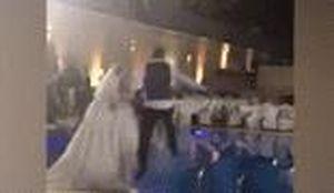 Cô dâu suýt chết đuối khi cùng chú rể nhảy xuống bể bơi
