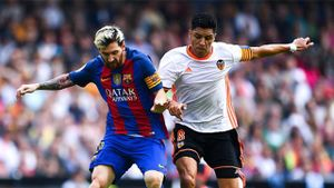 Highlights Valencia 2-3 Barcelona