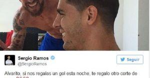 Ramos hứa tặng quà 'độc' nếu Morata lập công trước Bilbao