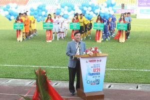 Khai mạc vòng chung kết U.21 Báo Thanh Niên: Rộn vang Cẩm Phả