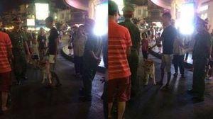 Không được mang chó vào phố đi bộ, nam thanh niên tranh cãi với công an