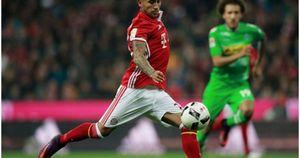 Vidal tỏa sáng, Bayern thắng dễ Moenchengladbach
