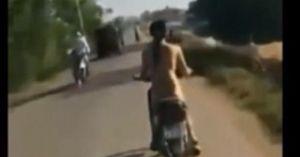 Clip cô gái Hà Nội khỏa thân lao xe vun vút 'dậy sóng' trên mạng