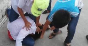 Clip nam sinh bị đánh hội đồng dã man gây phẫn nộ
