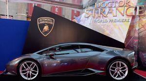 Siêu xe Lamborghini Huracan góp mặt trong phim bom tấn 'Doctor Strange'
