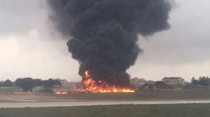 Máy bay chở quan chức biên giới châu Âu rơi ở Malta, 5 người chết