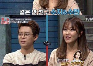 Phản ứng của Tony An khi nghe tên bạn gái cũ Hyeri (Girls' Day) trên sóng truyền hình