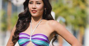 Clip thi áo tắm nóng rực của Nguyễn Loan tại Miss Grand