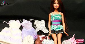 May váy cho búp bê - Hãy lưu để dành cho con gái!