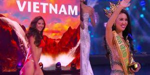 Người đẹp Indonesia đăng quang, Nguyễn Thị Loan vào top 20, VN đăng cai Hoa hậu Hòa bình Quốc tế 2017