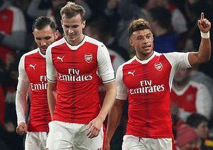 Chiến thắng không trọn vẹn của Arsenal ở cúp Liên đoàn