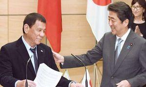 Philippines-Nhật Bản nhất trí giải quyết tranh chấp Biển Đông