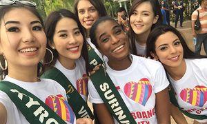 Nam Em trải lòng trước chung kết Hoa hậu Trái đất 2016